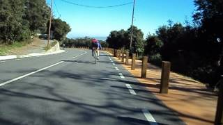 preview picture of video 'Bajada de Tibidabo a carretera de la Rabassada'