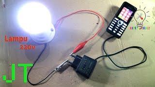 Download Video Cara Menyalakan Lampu 220v dengan Baterai 3v.// JT Sederhana. MP3 3GP MP4