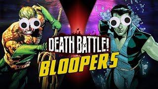 Aquaman VS Namor BLOOPERS!