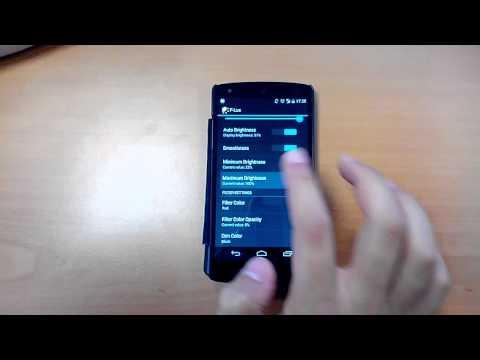 Video of Screen Brightness Control Lite