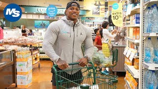 Grocery Shopping with Men's Physique Champion Brandon Hendrickson