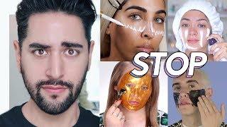 Beauty Guru Skincare Mistakes! ✖  James Welsh