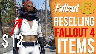 Fallout 76 is Reselling Fallout 4 Items You Already Bought