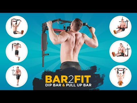 Pull up bar with dip bars - Bar2Fit - Garage gym - Home workout training