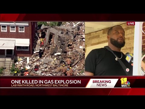 2 local heroes help neighbors trapped in Baltimore explosion