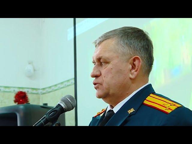 Военком Ангарска отметил 55-летний юбилей!