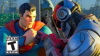 Fortnite The Foundation meets Superman Trailer