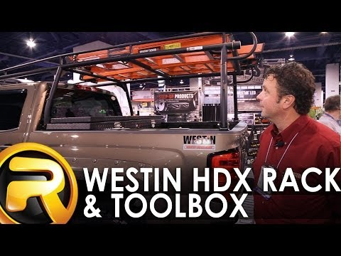 Westin HDX Truck Rack and Toolbox