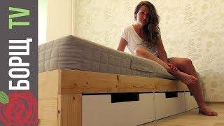 Как сделать двуспальную кровать своими руками с использованием инструмента