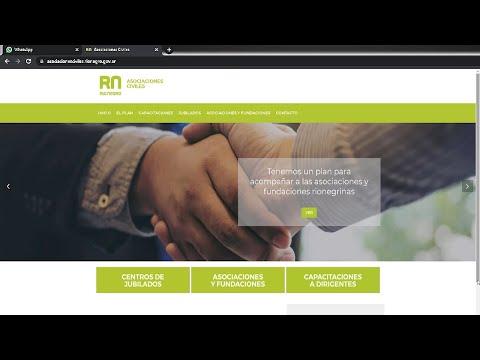 web asociaciones civiles RN