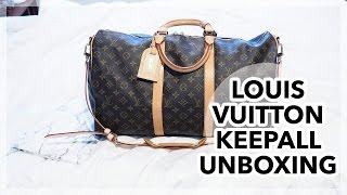 Louis Vuitton Keepall 50 Unboxing!