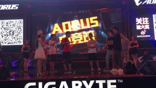 花絮: AORUS在ChinaJoy2017!