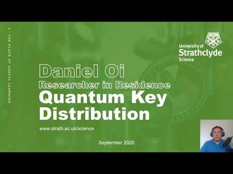Satellite Quantum Key Distribution