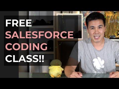 FREE SALESFORCE CODING CLASS!! - YouTube