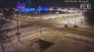 ДТП новогодняя ночь Ленина-Терешковой 3 ночи