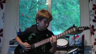 Children Of Bodom - Bed of Razors Guitar cover