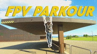 FPV PARKOUR ! Go find your drone ! fpv drone freestyle session
