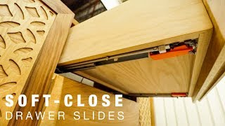 How to Install Blum Soft-Close Undermount Drawer Slides