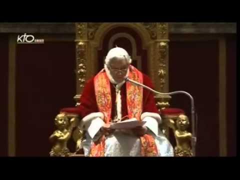 Les voeux du Pape à la Curie romaine