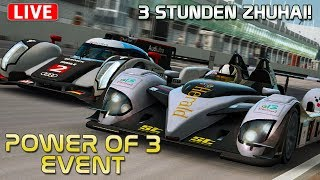 3 Stunden Zhuhai - Multiclass mit rAii - LIVE | RaceRoom [HD] [GER] Radical SR9 AER
