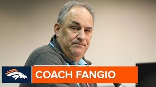 Vic Fangio on Kicking Off the NFL Combine & Working w/ John Elway | Denver Broncos