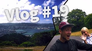 WELLINGTON & LORD OF THE RING FILMSETS - Travel New Zealand - Vlog #19