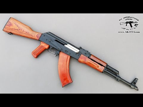 "Polish AK 47 from Atlantic Firearms – Look under the ""hood"""