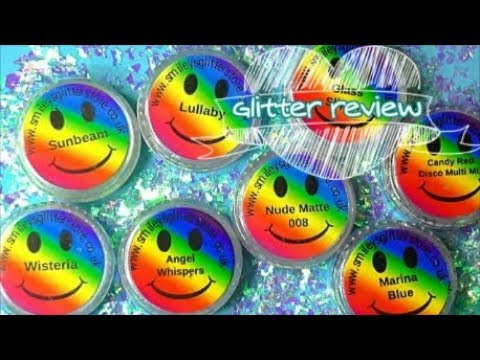 GLITTER REVIEW | SMILEYS GLITTER STORE | ABSOLUTE NAILS