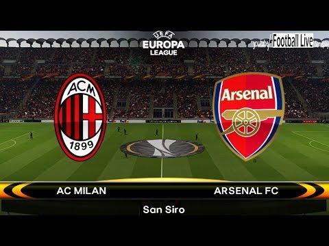 PES 2018 | AC Milan vs Arsenal | UEFA Europa League | Gameplay PC