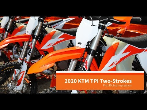 2020 KTM Two-Stroke XC and XC-W TPI Intro