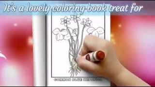 Botanical Beauty Flower Coloring Pages For Adults - Flower Coloring Book Vol. 2
