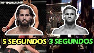 10 NOCAUTS mas RÁPIDOS en la HISTORIA de las MMA - Mas rápidos que Masvidal