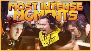 CS:GO | MOST INTENSE PRO MOMENTS YOU WILL EVER SEE!