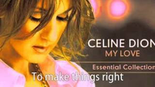 "Celine Dion - THE BRAND NEW HIT SINGLE ""There Comes A Time"" w/lyric in the video"