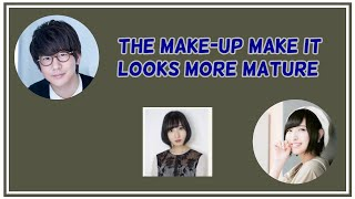 [Kamisama ni natta radio] Hanae Natsuki comments on Sakura Ayane new profile image