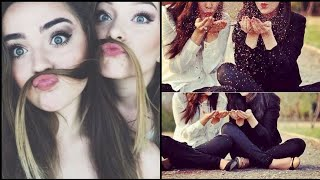 Stylish Selfie Poses With Bestie And Sister/ Picture Ideas With Best Friend