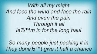 Ffh - The Long Haul Lyrics