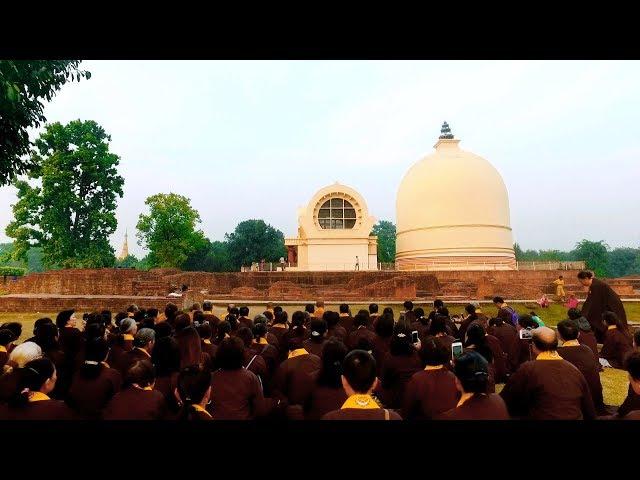Số 6 Thuyết Pháp Tại Thành Câu Thi Na Hành Trình Theo Dấu Chân Phật Chùa Khai Nguyên.