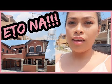 BINISITA ANG PINAPAGAWANG BAHAY for the first time! | THIS WILL BE OUR NEW HOME! | March 10, 2019