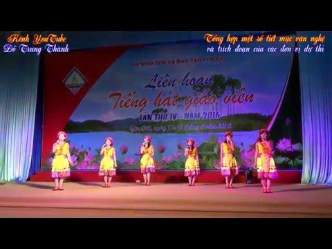 Liên hoan tiếng hát giáo viên (Phòng GD&ĐT Văn Chấn, Văn Yên và một số đơn vị khác)