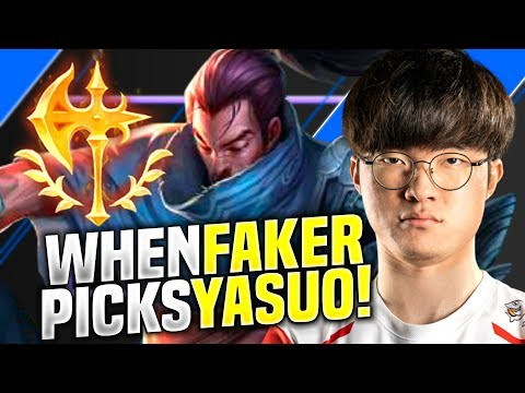 WILL FAKER YASUO CARRY THIS TEAM? - SKT T1 Faker Plays Yasuo vs Kassadin Mid! | Season 2020 KR SoloQ