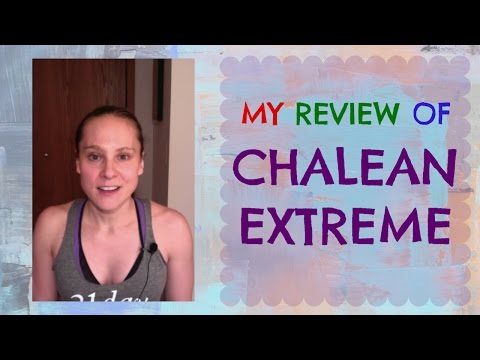 Chalean Extreme Review - Weight Lifting - Weight L
