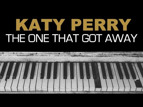 Katy Perry - The One That Got Away Karaoke Instrumental Acoustic Piano Cover Lyrics LOWER KEY