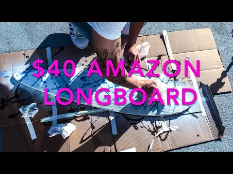 Pimping my $40 Amazon Longboard