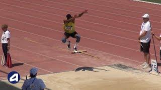 Angers 2019 : Finale Triple Saut Juniors M (Jonathan Seremes avec 16,12 m)