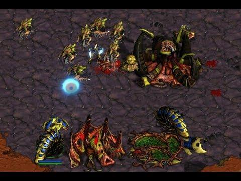 EPIC - AKARAKA (Z) v SkilletMaster (P) on Colosseum 2 - StarCraft  - Brood War REMASTERED