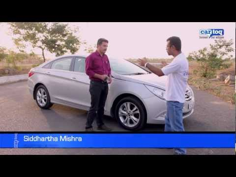 2012 Hyundai Sonata Petrol Video Review and Road Test by CarToq.com
