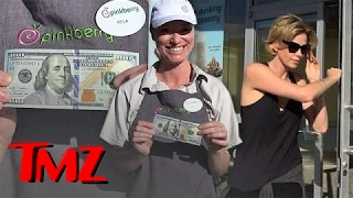 Charlize Theron Drops a MASSIVE Tip!   TMZ