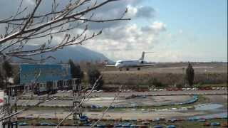 preview picture of video 'Iran Aseman Airline Fokker 100 In Noshahr(720p-HD)'