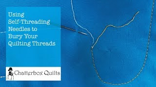 How to Bury Your Quilting Threads
